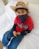 cowboy little Royaltyfri Fotografi