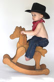 cowboy little Arkivbilder