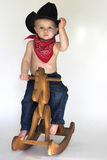 cowboy little Royaltyfria Foton