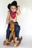 cowboy little Royaltyfria Foton