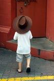 cowboy little Arkivbild