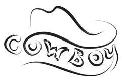 Cowboy logo  Stock Photo
