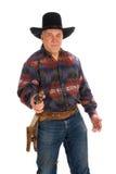 Cowboy mûr. Images stock