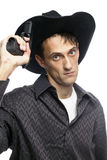 Cowboy male Stock Photography