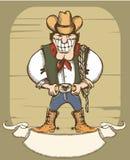 Cowboy man Stock Photo