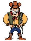 Cowboy man Stock Image
