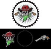 Cowboy Mascot Immagine Stock