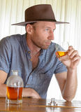 Cowboy men Stock Photography
