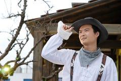 Cowboy occidentale Immagini Stock Libere da Diritti