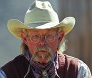A Cowboy of Old Tucson, Tucson, Arizona Stock Image