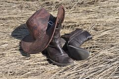 Cowboy out Royalty Free Stock Images