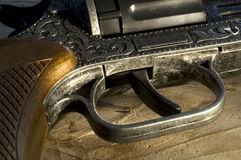 Cowboy Pistol Stock Photo