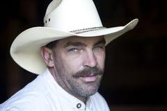 Cowboy portrait. stock image