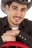 Cowboy portrait smile Royalty Free Stock Photography