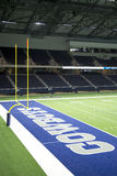 Cowboy practice facility in Ford Center Stock Photos