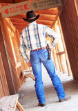 Cowboy Ready to Draw Royalty Free Stock Photos