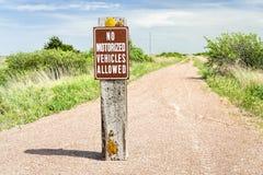 Cowboy ricreativo Trail nel Nebraska del Nord immagine stock libera da diritti