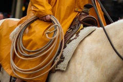 Cowboy Rope Lizenzfreies Stockbild