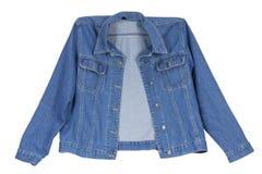 Cowboy's  blue cotton  jacket Royalty Free Stock Photos