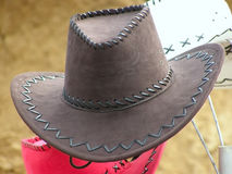 Cowboy's hat Royalty Free Stock Photos