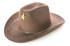 Cowboy ` s Hut Lizenzfreie Stockfotos