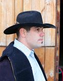 Cowboy's portrait Royalty Free Stock Image
