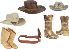 Cowboy`s property Stock Images