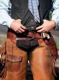 Cowboy's Waist Royalty Free Stock Photography