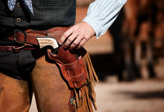 Cowboy's Waist Royalty Free Stock Images
