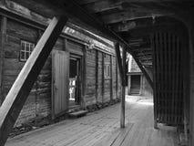 Cowboy scenario!. Old buildings in Bergen of Norway looks like a cowboy scenario Royalty Free Stock Photos
