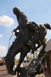 Cowboy sculpture in Scottsdale Arizona USA Stock Photos