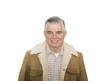 Cowboy Senior Smiling Stock Photography