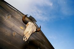 Cowboy Shed Royalty Free Stock Photo