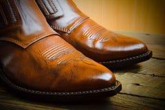 Cowboy shoes Stock Photos