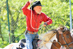 Cowboy show Royalty Free Stock Photography