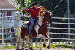 Cowboy show Royalty Free Stock Photo