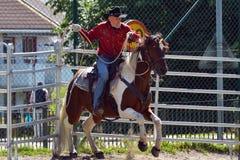 Cowboy show Royalty Free Stock Photo