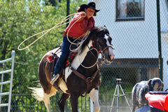 Cowboy show Royalty Free Stock Image