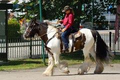 Cowboy show Stock Image