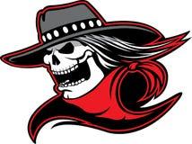 Cowboy Skull anche Immagine Stock Libera da Diritti