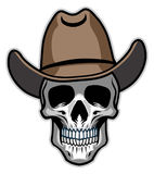 Cowboy skull Royalty Free Stock Photos