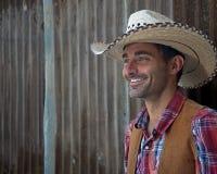 Cowboy Smile Stockfoto
