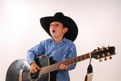 Cowboy solitário três imagens de stock royalty free