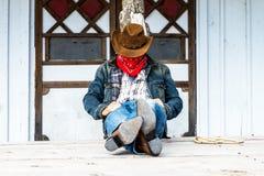 Cowboy spirit Royalty Free Stock Photos