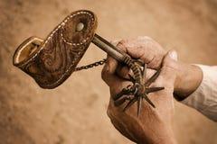 Cowboy spur Stock Images