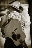 Cowboy-Störung-Sitzung Stockfotos