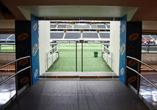 Cowboy-Stadion-Feld-Eingang lizenzfreies stockbild