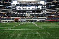 Cowboy-Stadion von der Endzone Stockbilder