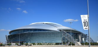 Cowboy Stadium Stock Image