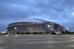 Cowboy stadium at night Royalty Free Stock Photography